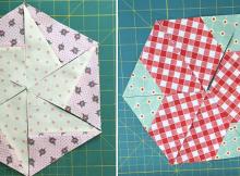Two Ways to Make Versatile Hexagon Blocks