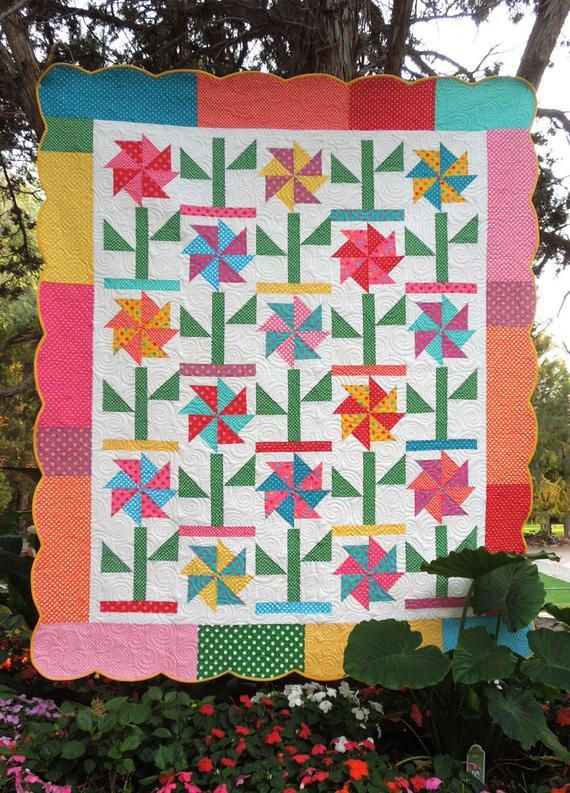 Gracie's Garden Quilt Pattern