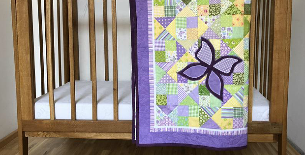 Butterflies in the Meadow Quilt Pattern