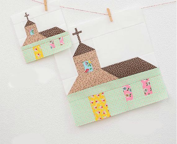 Church Quilt Block Pattern