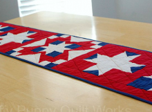Patriotic Table Runner Pattern