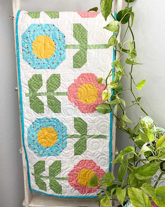 Simply Spring Table Runner Pattern