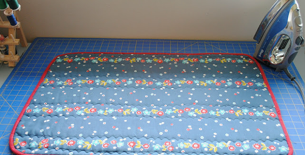 Make a Portable Pressing Mat for Home and Away