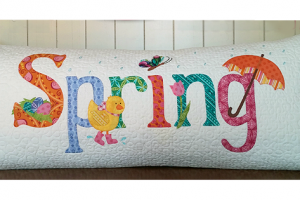 A Year in Words Pillow Pattern - Spring