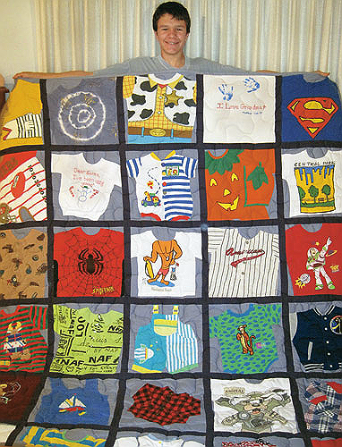 3 Ways to Make a Memory Quilt from Baby Clothes