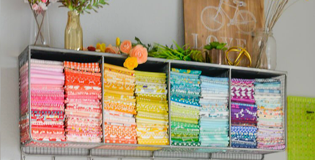 3 Ways to Fold Fat Quarters for Storage and Giving