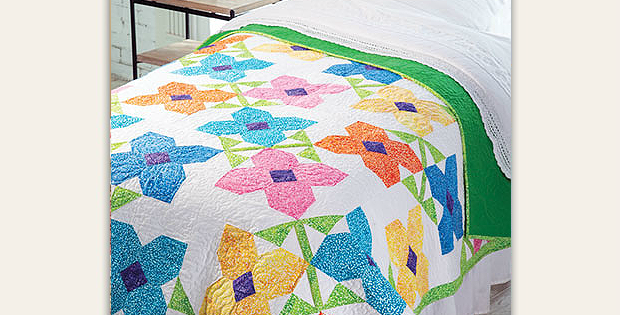 Bloomin' Quilt Pattern