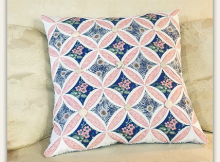 Cathedral Window Pillow Tutorial