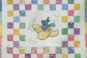 Bunny in the Sky Baby Quilt Pattern