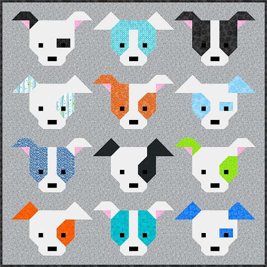 Dog Gone Cute Quilt Pattern