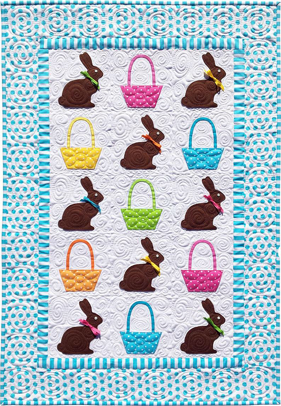 Chocolate Bunnies Quilt Pattern