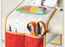 Ironing Board Caddy Sewing Pattern