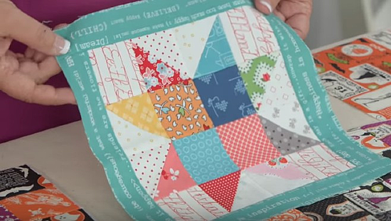 Create a Pot Holder from Any Quilt Block