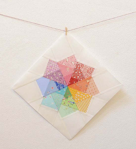 Spinning Pinwheel Block Tutorial