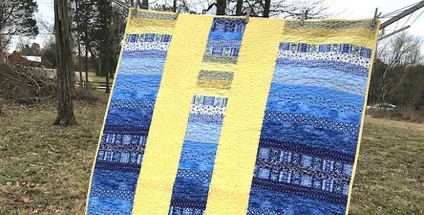 Sunshine on a Cloudy Day Quilt Tutorial