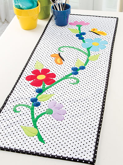 Branching Out Table Runner Pattern