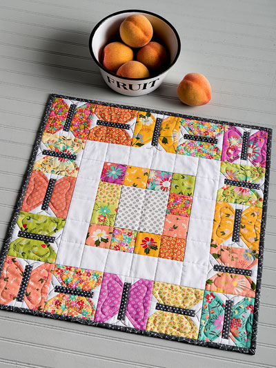 Summer Butterfly Table Topper Quilt Pattern