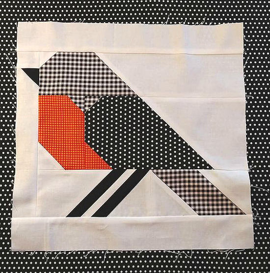 Bluebird Quilt Block Pattern