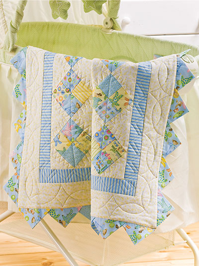 Baby Charmers Quilt Pattern