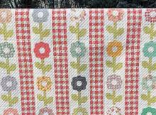 Gingham Garden Quilt Pattern