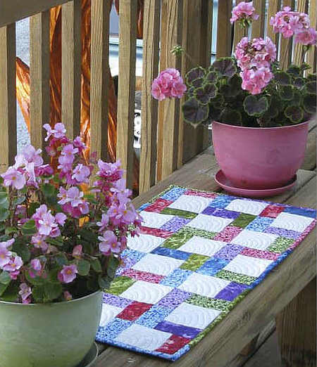Crossroads Table Runner Tutorial