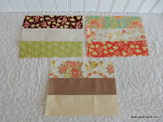 How to Cut Scraps and Make Scrappy Nine-Patch Blocks