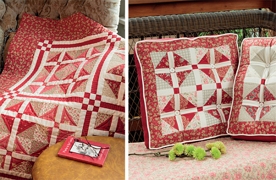 Quilt from A Cut Above by Gerri Robinson