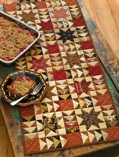 Table Runner Pattern from Skinny Quilts and Table Runners II