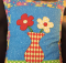 Big Blooms Toss Pillow Pattern