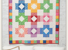Color Blocks Quilt Pattern
