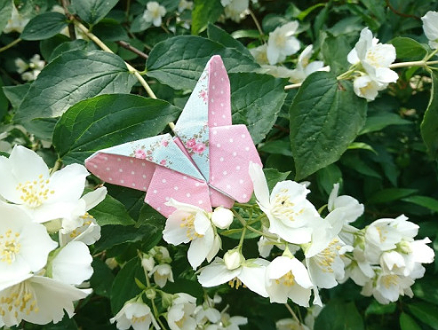 Create Beautiful Butterflies from Fabric