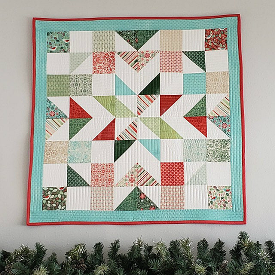 Charming Barn Quilt pattern