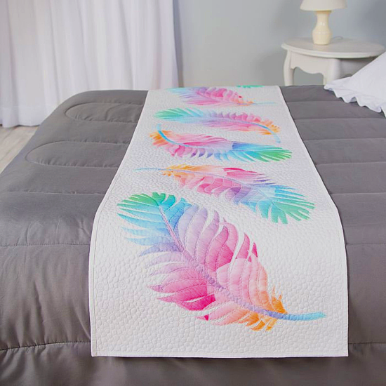 Dream Big Dream Catcher Bed Runner Pattern