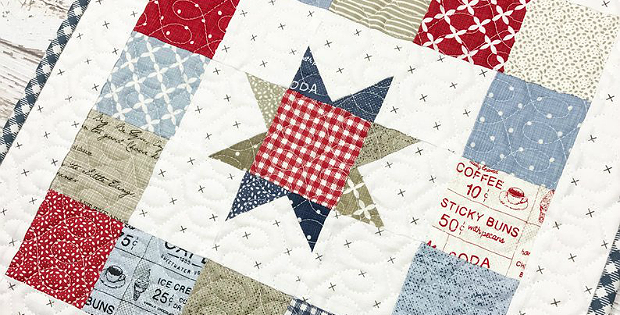 Mini Starbound Quilt Pattern