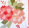 Blushing Blooms Quilt Pattern