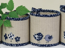Four Baskets Pattern
