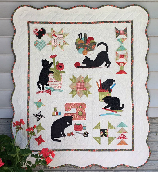 Kitty Craft Wall Hanging Quilt Pattern