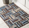 Strip Roll Rug Pattern