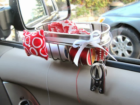 Four Clever Sewing Caddies for the Car