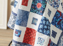Red, White and Blue Quilt Pattern