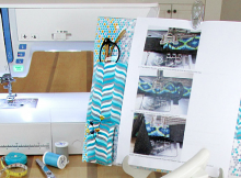 Keep Patterns and Tools Handy by the Machine