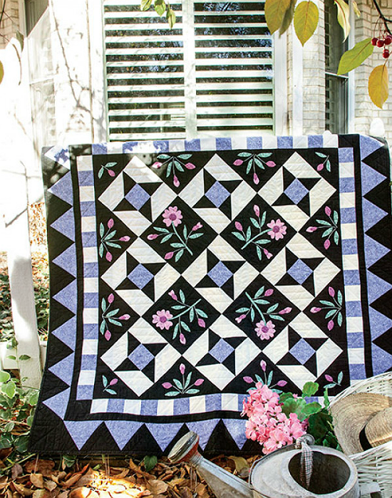 Twilight Posies Quilt Pattern