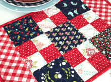Beginner Charm Pack Placemat Tutorial