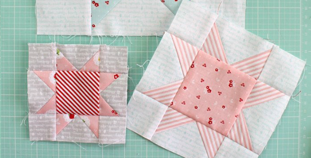 How to Make Sawtooth Star Blocks in 10 Sizes