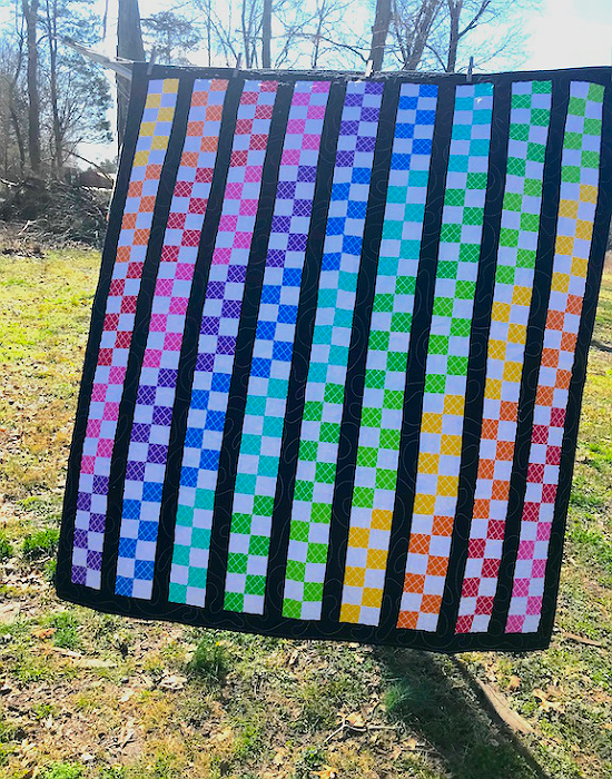 Check Me Out Quilt Tutorial