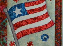 Old Glory Mini Quilt Pattern
