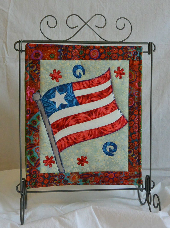Old Glory Mini Quilt Pattern