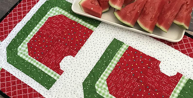 Summertime Table Runner Pattern