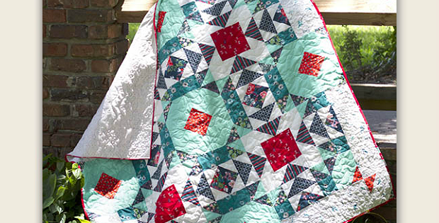 Lily Pond Quilt Pattern