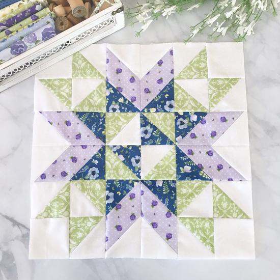 Garden Path Mystery Quilt Pattern